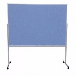 3ft x 4ft Double Sided Mobile Pin Board