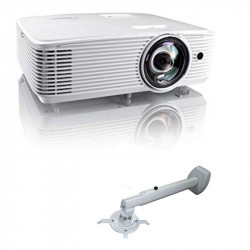 Optoma X308STe Short Throw Multimedia Projector with Wall Bracket
