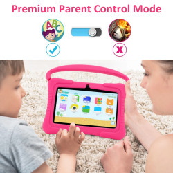 High-Quality Educational Tablet With Free Protective Pouch 7inches