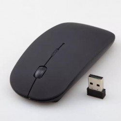Best Rechargeable Wireless Mouse, Metal 2.4G Silent Clic