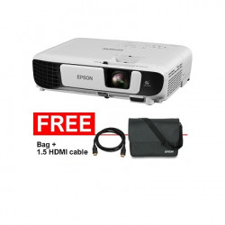 Epson  Portable Projector EB-S41, 3LCD,  3300 Lumens, 10,000 Hour Lamp Life- With Carrying Bag